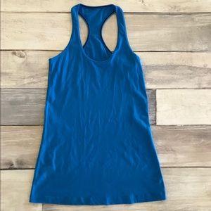 Lululemon Cool Racerback Cornflower Blue, 6, EUC